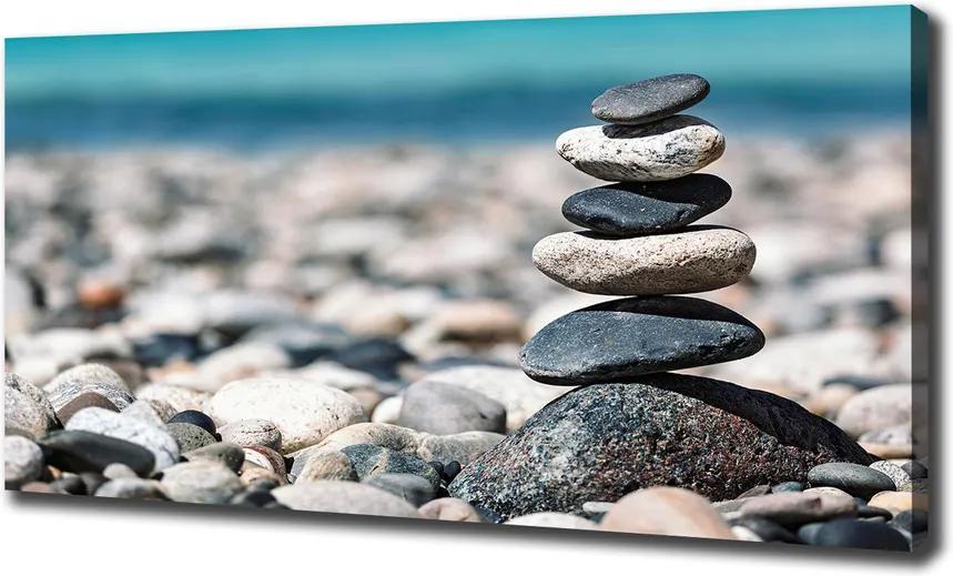 Tablou pe pânză canvas O gramada de pietre