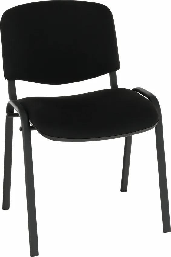 Scaun de birou, negru, ISO NEW