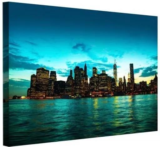 CARO Tablou pe pânză - New York City 40x30 cm