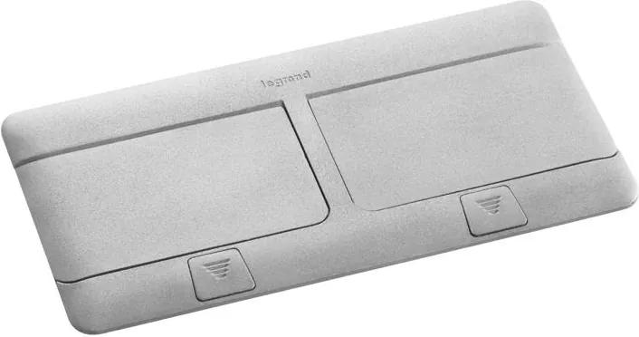 Legrand 54013 - Cadru de priză pentru masă POP-UP 2x4M aluminiu