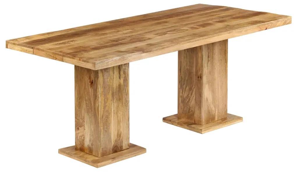 246266 vidaXL Masă de bucătărie masivă, 178x90x77 cm, lemn masiv de mango