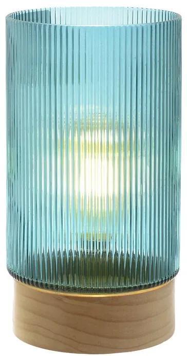 Veioza Elchi din sticla, 28 x 14 cm