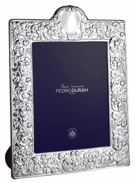 Rama foto argint masiv Pedro Duran Adorno Pompadour 20x25