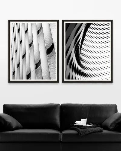 Tablou 2 piese Framed Art Modern Architecture