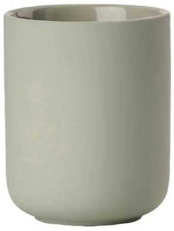 Pahar din ceramica pentru periuta de dinti Ume Pastel, Ø8,3xH10,3 cm, Zone Denmark