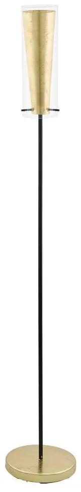 Eglo 97655 - Lampadar PINTO GOLD 1xE27/60W/230V