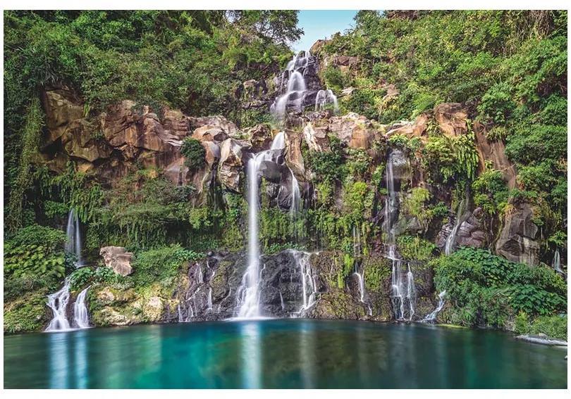 Fototapet peisaje cascade Vlies