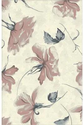 Covor sintetic Matrix model floral bej/roz 160x230 cm