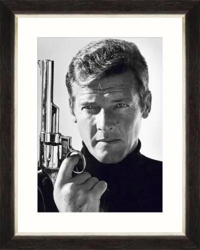 Tablou Framed Art Roger Moore