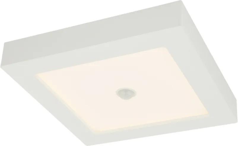Globo 41606-18S Plafoniere pentru baie SVENJA alb aluminiu LED - 1 x 18W 1600lm 3000K IP44 A+