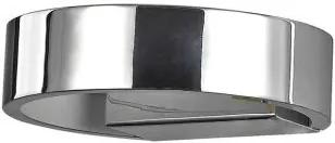 Aplica LED moderna ZED AP1 ROUND CROMO