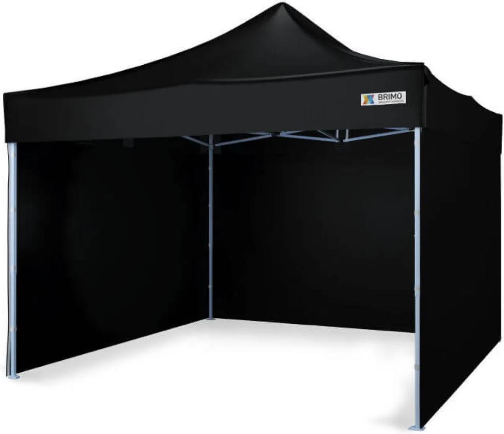 Cort pavilion de grădină pliabil 3x3m - Black