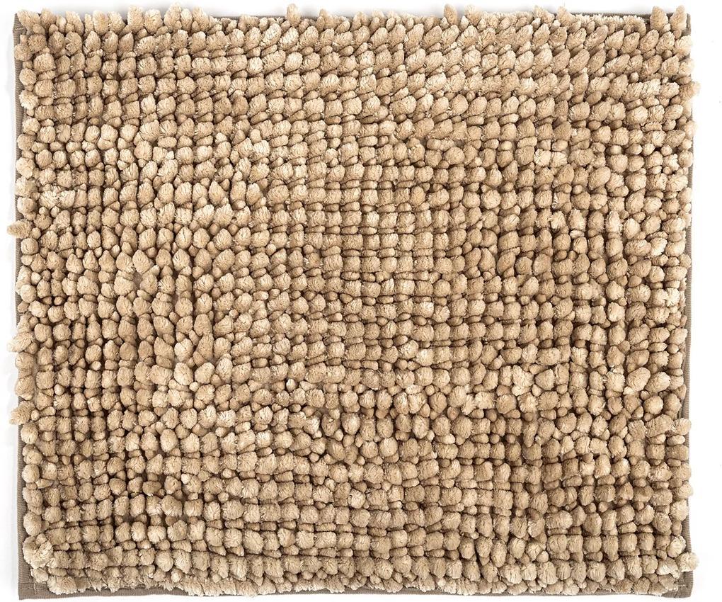 Covoraș de baie Ella micro, bej, 40 x 50 cm, 40 x 50 cm