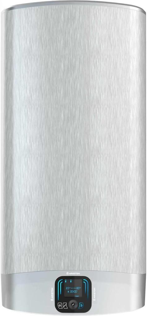 Boiler electric Ariston VLS EVO PLUS 80 EU, 1500 W, 80L, LCD, aluminiu patinat