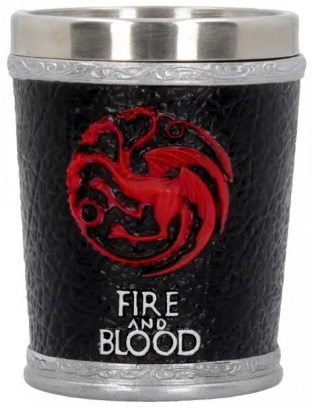 Pahar shot Fire and Blood - Game of Thrones