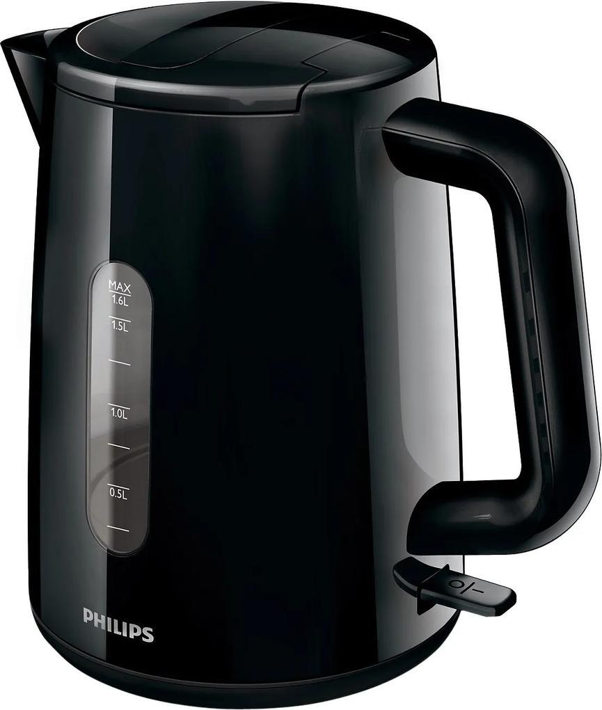 Fierbator Philips HD9300/90, 1.6 l, 2400 W, negru