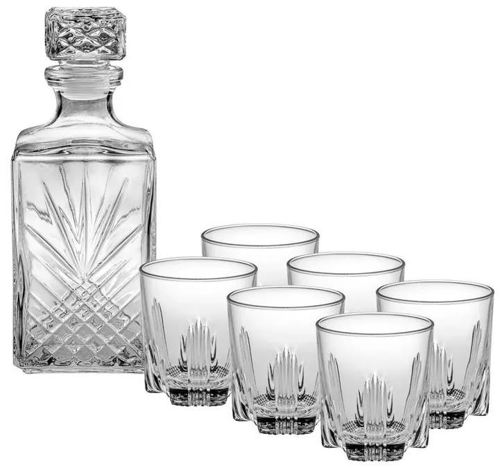 Set de carafă și pahare pentru Whisky BORM