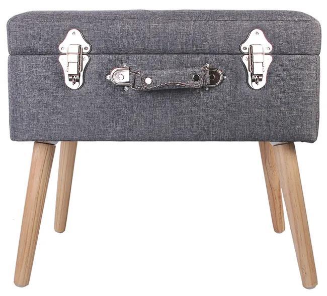 Bancheta CMP Suitcase S1  gri inchis