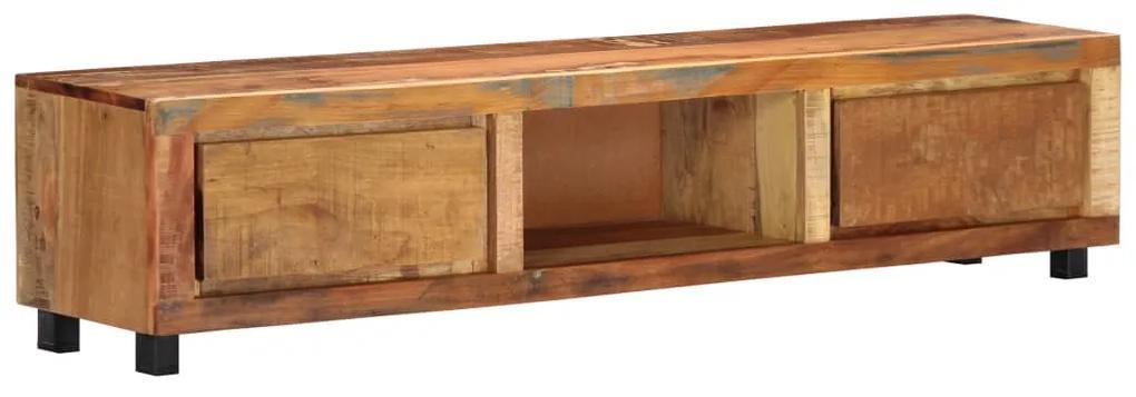 247956 vidaXL Comodă TV, 150 x 30 x 33 cm, lemn masiv reciclat