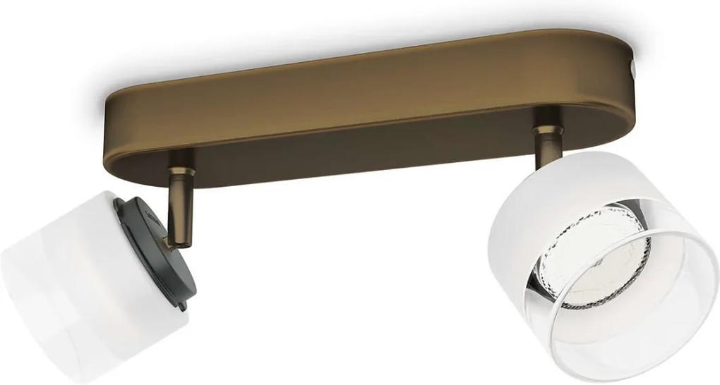 Philips 53332/06/16 - LED Lampa spot FREMONT 2xLED/4W/230V