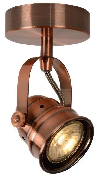Lucide 77974/05/17 - Spot LED CIGAL 1xGU10/5W/230V de cupru