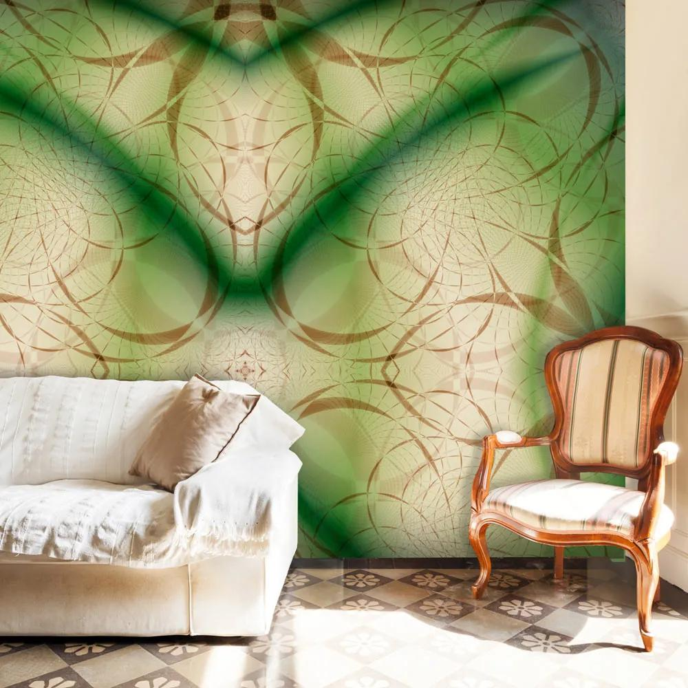 Fototapet Bimago - Abstract ornaments + Adeziv gratuit 200x154 cm