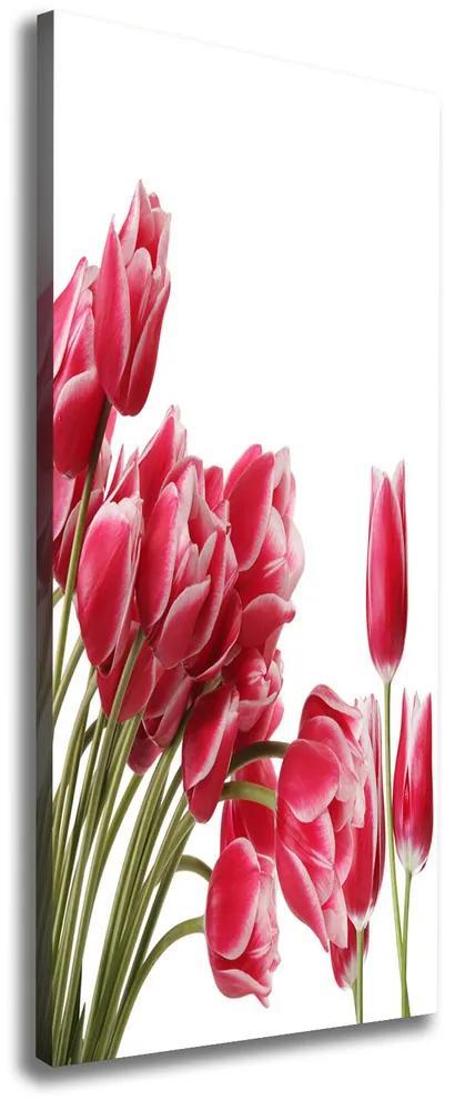 Imprimare tablou canvas Lalele rosii