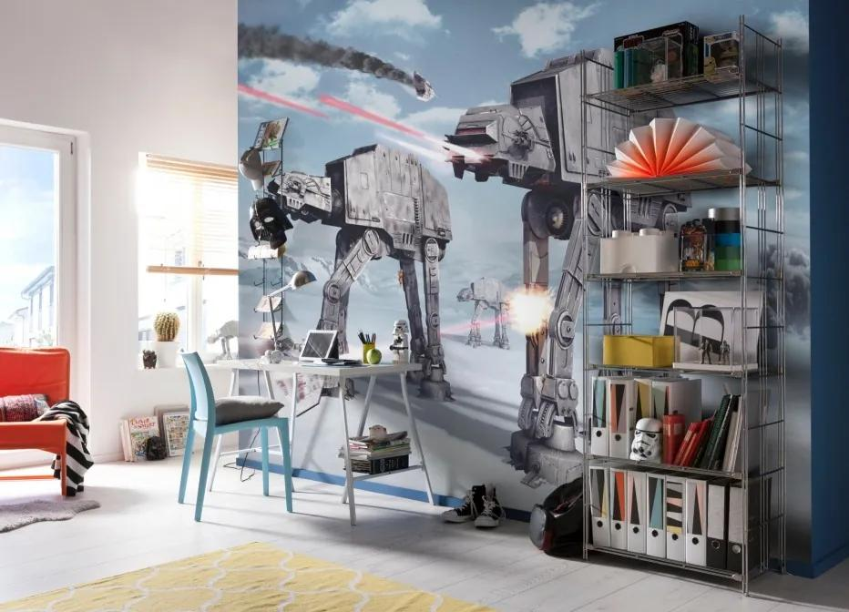Komar Fototapet - STAR WARS Battle of Hoth