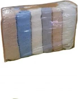 Set 6 prosoape colorate 50x100 Lux