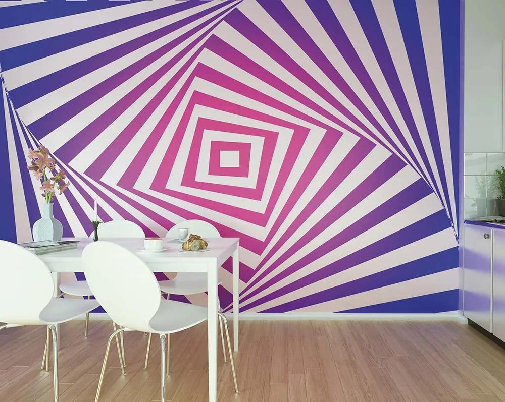Fototapet - Turn And Twist Tapet non-țesute 300x240 cm Fototapete pe perete Lucios