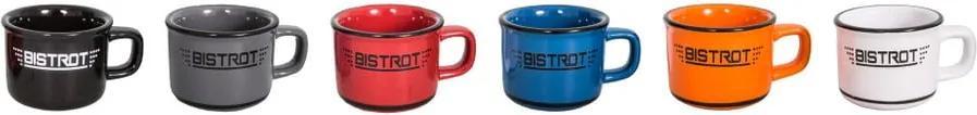 Set 6 cești din ceramică pentru espresso Antic Line Bistrot
