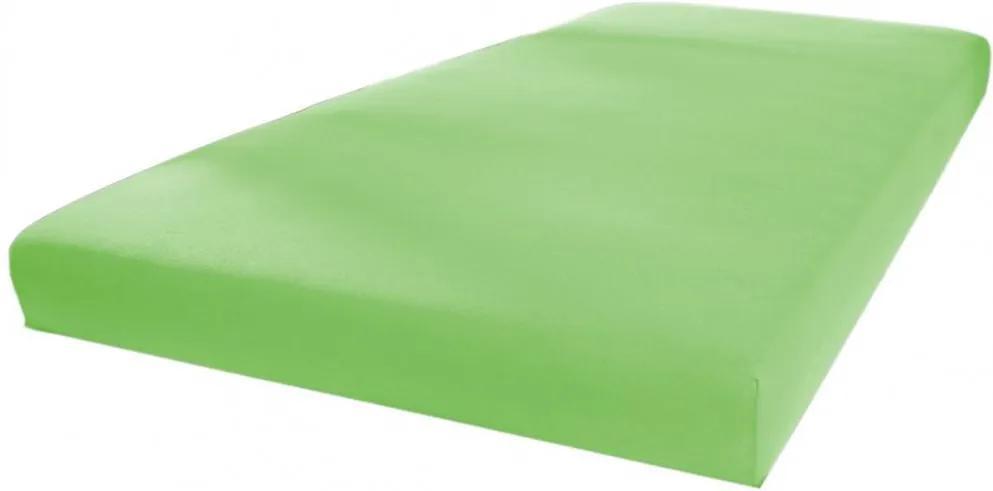 Cearceaf Tega Baby impermeabil pentru saltea 120x60 cm verde