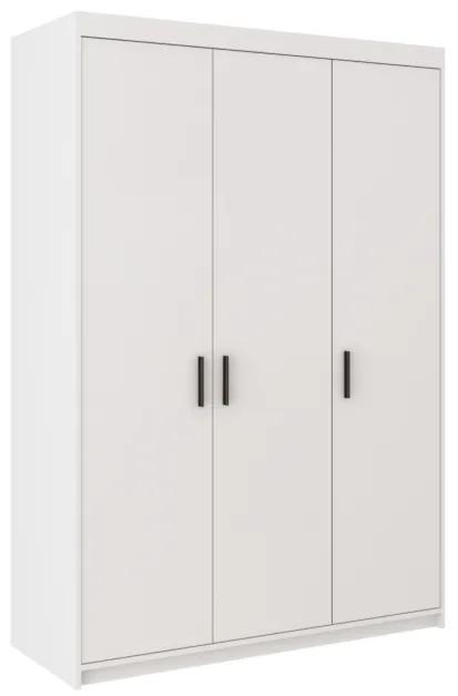 Expedo Dulap dormitor ELLENA 3D, 190x133x53, alb