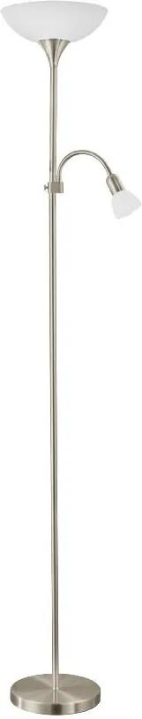 EGLO 93207 - LED Lampadar UP 5 1xE27/7W LED + 1xE14/4W
