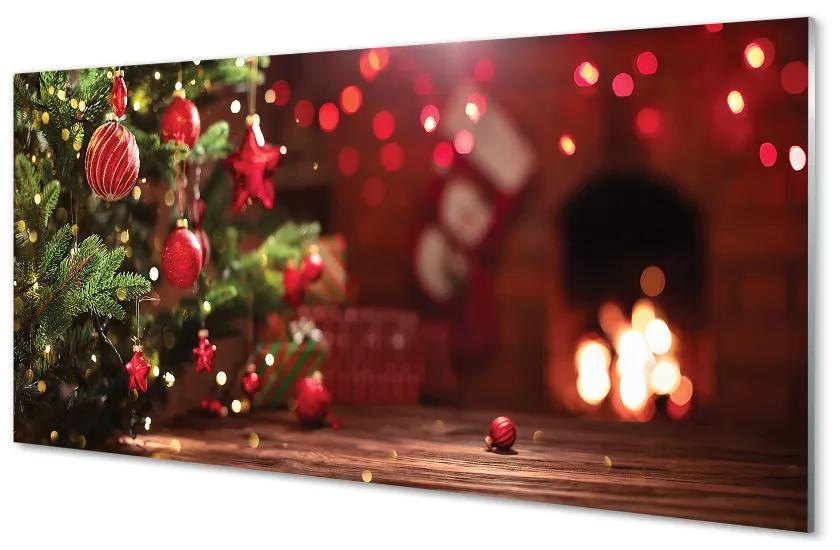 Tablouri acrilice Tablouri acrilice Cadouri Baubles Christmas Tree