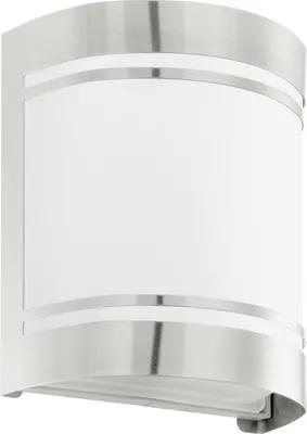 Aplica Cerno E27 max. 1x40W, pentru exterior IP44, otel inoxidabil