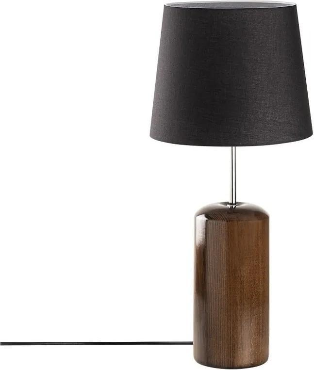 Veioză din lemn Opviq lights Harula, negru