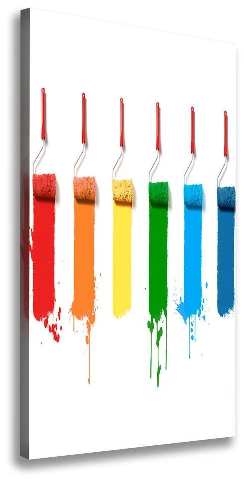 Pictură pe pânză Paint role