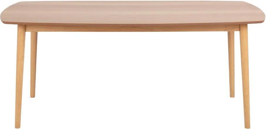 Masă dining Actona Hastings, 180 x 90 cm, maro