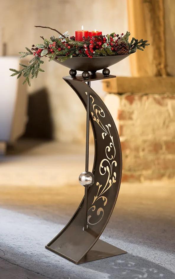 Suport flori TENDRIL, metal, 110X50 CM