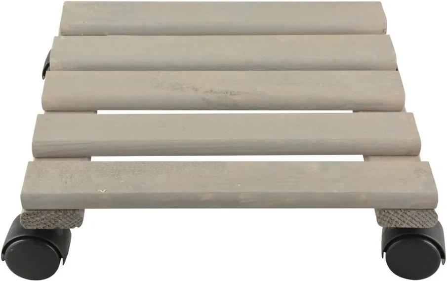 Suport din lemn de pin pentru ghiveci Ego Dekor, lățime 30 cm