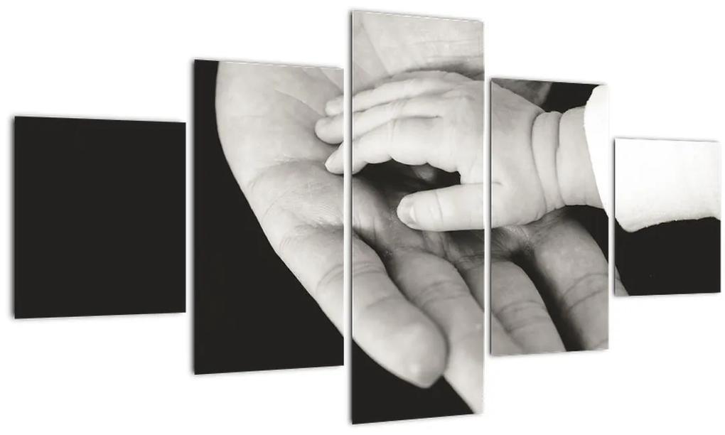 Tablou cu mâini (125x70 cm), în 40 de alte dimensiuni noi