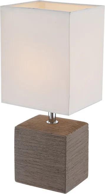 Globo 21677 Lampa de masa de noapte GERI ceramică 1 x E14 max. 40w IP20
