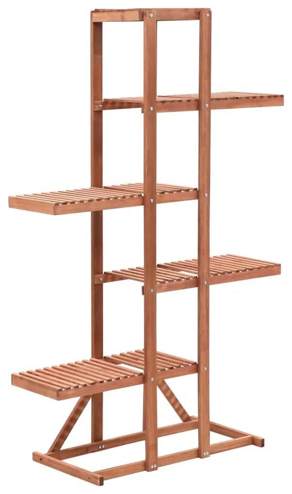 246432 vidaXL Suport de plante, lemn de cedru, 86 x 36 x 139 cm