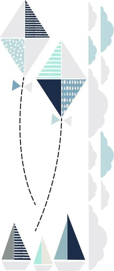 Autocolant pentru perete Dekornik Kites