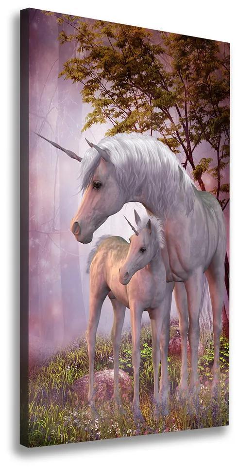 Tablou pe pânză canvas Unicorni