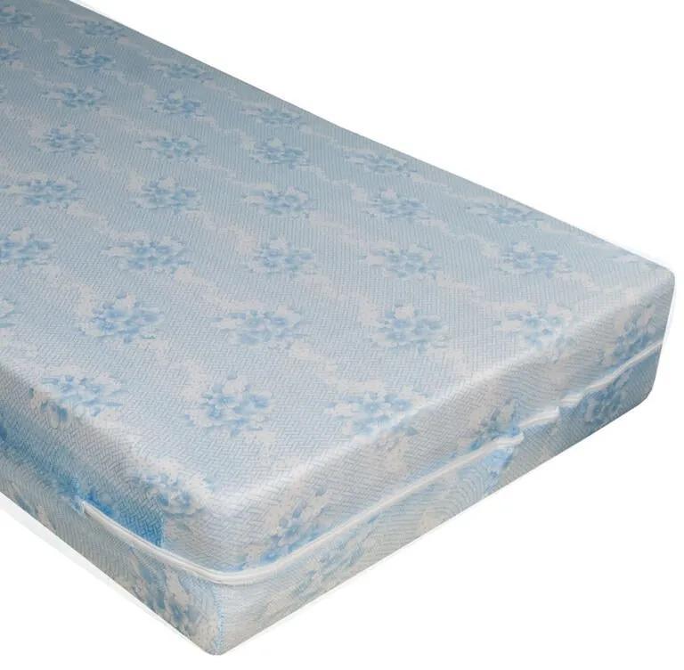 Protecție elastică pentru saltea cu fermoar Alba 160 x 200 cm