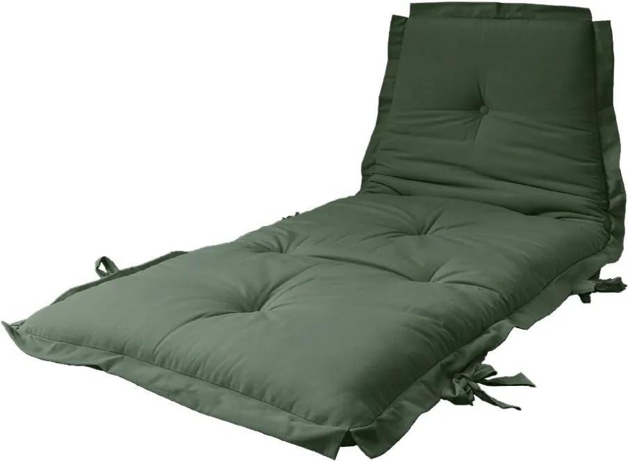 Futon pliabil Karup Design Sit & Sleep Olive Green
