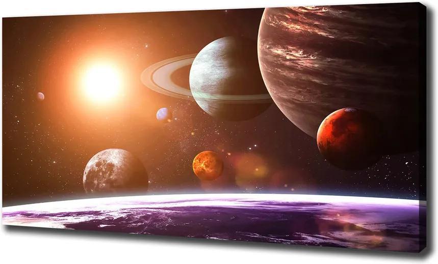 Print pe pânză Sistem solar