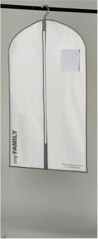 Husă pentru îmbrăcăminte Compactor Suit Bag White, alb